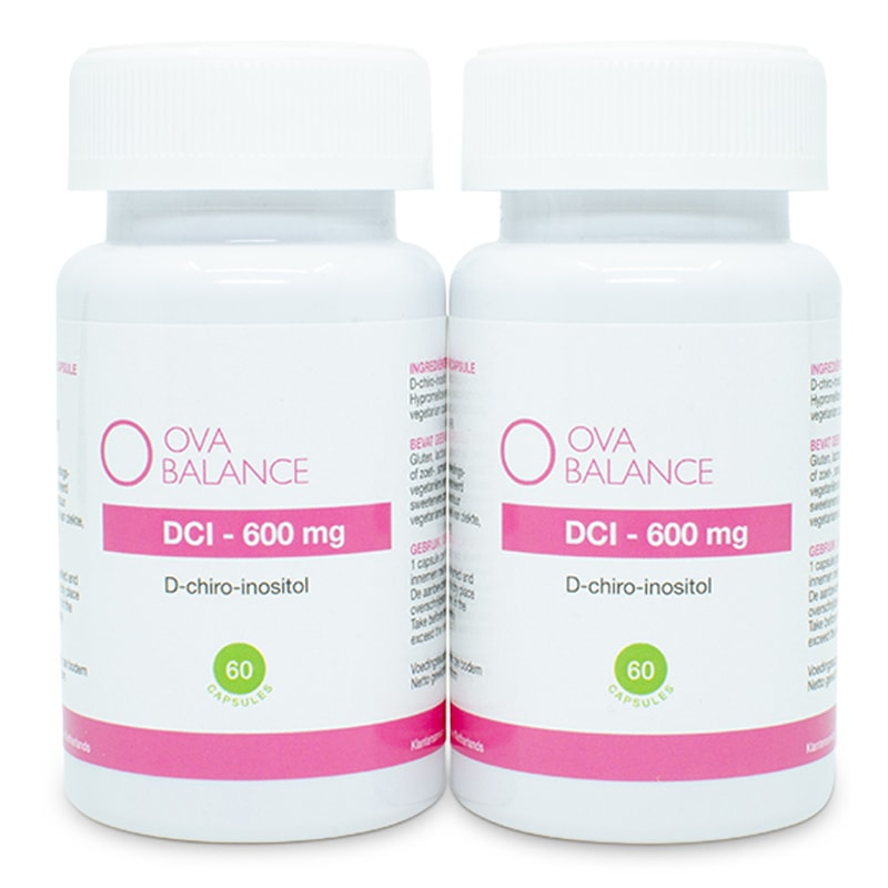 Image of DCI 600 mg | 120 capsules (2 potjes)