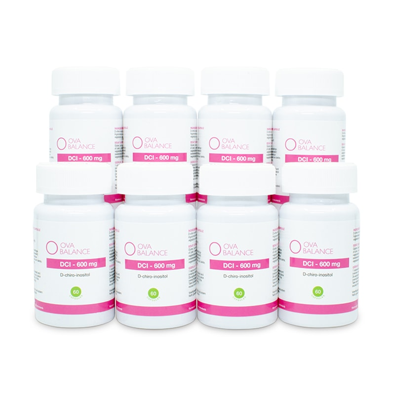 Image of DCI 600 mg | 480 capsules (8 potjes)