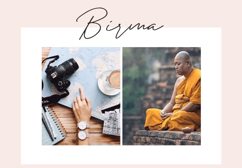 reizen in Birma