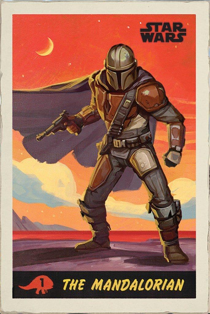 Image of Pyramid Star Wars The Mandalorian Poster 61x91,5cm